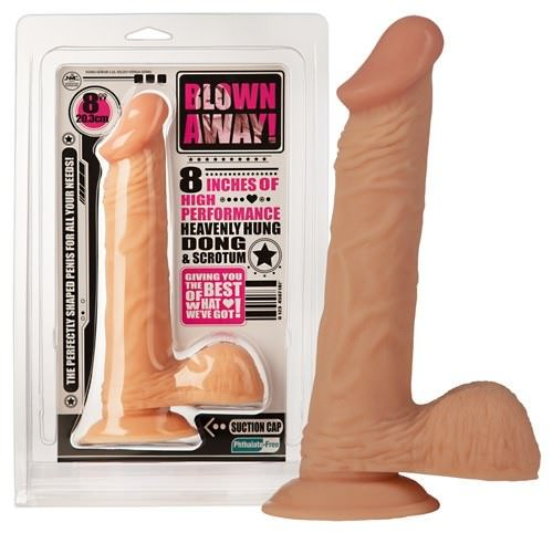 Image of   Blown Away Realistisk Sugekop Dildo