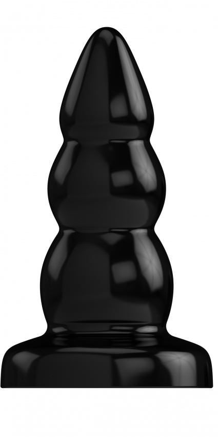 Image of   Bottom Line Rubber 7 Model 6 Buttplug