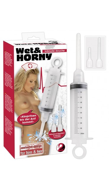 You2Toys Wet and Horny Anal Douche