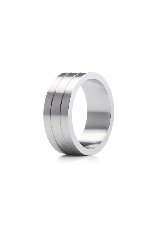 Image of   Ouch! Cockring II Metal Penisring