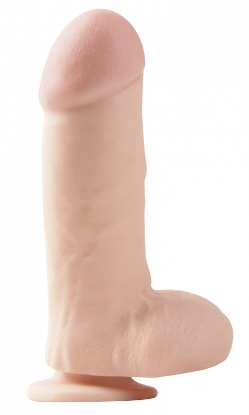 Image of   Pipedream Basix 7 Big Realistisk Sugekop Dildo