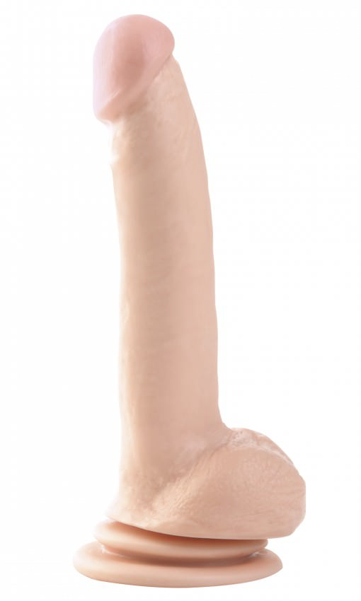 Image of   Pipedream Basix 9 Big Realistisk Sugekop Dildo